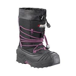 Children's Baffin Young Snogoose Snow Boot Black/Plum