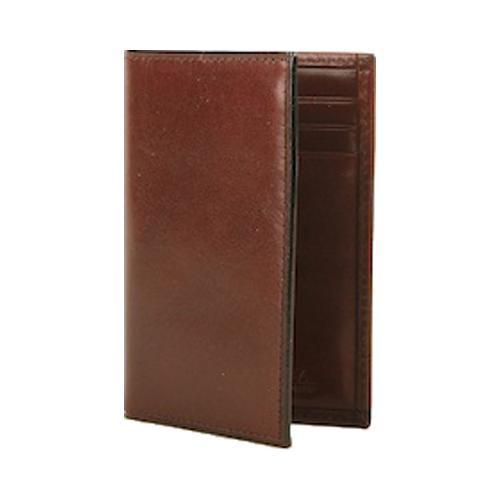buy popular 560a1 7f523 Bosca Old Leather 8 Pocket Credit Card Case Dark Brown