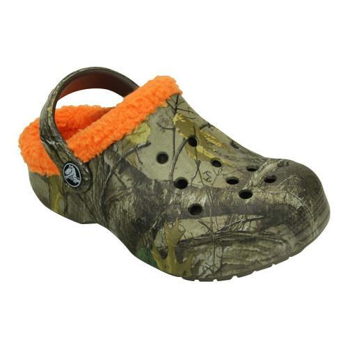 5f3f0c0fc9a80d Shop Children s Crocs Baya Lined Realtree Xtra Clog Chocolate Orange - Free  Shipping On Orders Over  45 - Overstock - 17228187