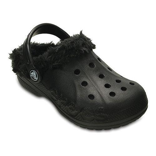 a6f882f8d5 Shop Children s Crocs Baya Plush Lined Clog Kids Black Black - Free  Shipping On Orders Over  45 - Overstock - 17228188