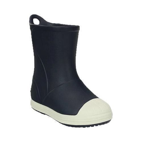79b10b18fe8806 Shop Children s Crocs Bump It Rain Boot Kids Navy Oyster - Free Shipping On  Orders Over  45 - Overstock.com - 17228202