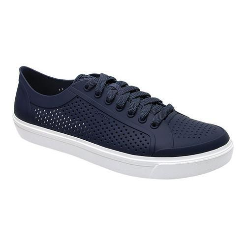 d44ec3c21 Shop Men s Crocs CitiLane Roka Court Sneaker Navy White - Free Shipping  Today - Overstock - 17228240