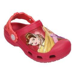 Girls' Crocs CC Dream Big Princess Clog Kids Raspberry