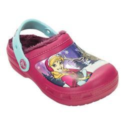 Girls' Crocs CC Frozen Lined Clog Juniors Berry