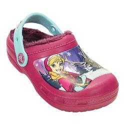 Girls' Crocs CC Frozen Lined Clog Kids Berry