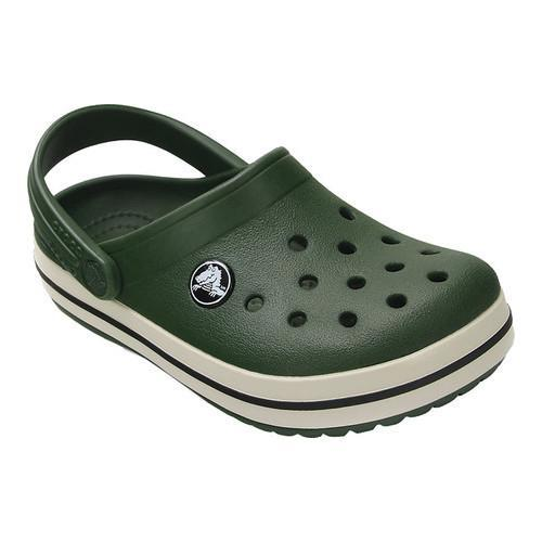 3a824aefb Shop Children s Crocs Crocband Clog Kids Forest Green Stucco - Free  Shipping On Orders Over  45 - Overstock - 17228251