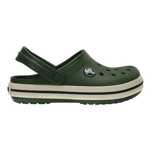8202bcbc2cc83 ... Thumbnail Children  x27 s Crocs Crocband Clog Kids Forest Green Stucco  ...