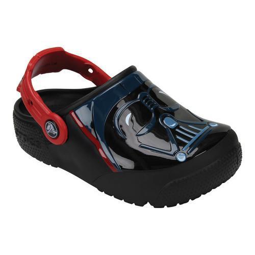 912d20d24 Shop Boys  Crocs CrocsFunLab Lights Darth Vader Clog Kids Black - Free  Shipping On Orders Over  45 - Overstock.com - 17228298