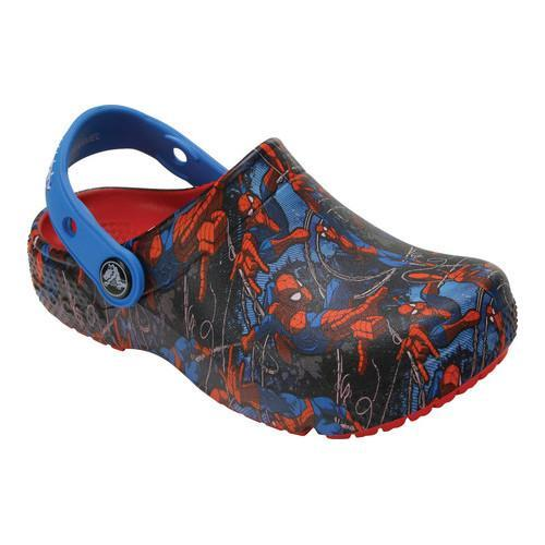 f7531b01a Shop Boys  Crocs CrocsFunLab Spiderman Clog Juniors Flame - Free Shipping  On Orders Over  45 - Overstock - 17228304