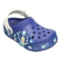 Girls' Crocs CrocsLights Frozen Clog Kids Cerulean Blue/Oyster|https://ak1.ostkcdn.com/images/products/194/234/P23484522.jpg?impolicy=medium