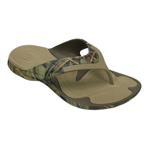 0cec0c2460b539 Shop Crocs MODI Sport Realtree Max-4 Flip Flop Sandal Chocolate Khaki -  Free Shipping On Orders Over  45 - Overstock - 17228374