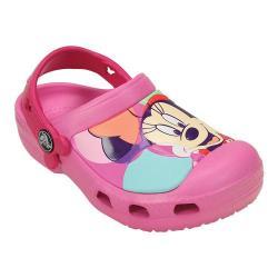 Girls' Crocs Minnie Colorblock Clog Juniors Party Pink