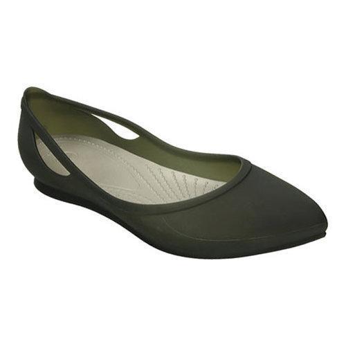 Women's Crocs Rio Flat Black/Platinum