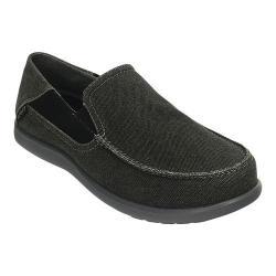 Men's Crocs Santa Cruz 2 Luxe Black/Charcoal