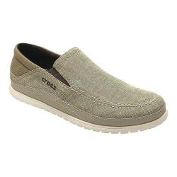 Men's Crocs Santa Cruz Playa Slip-On Khaki/Stucco