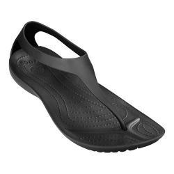 Women's Crocs Sexi Flip Black/Black