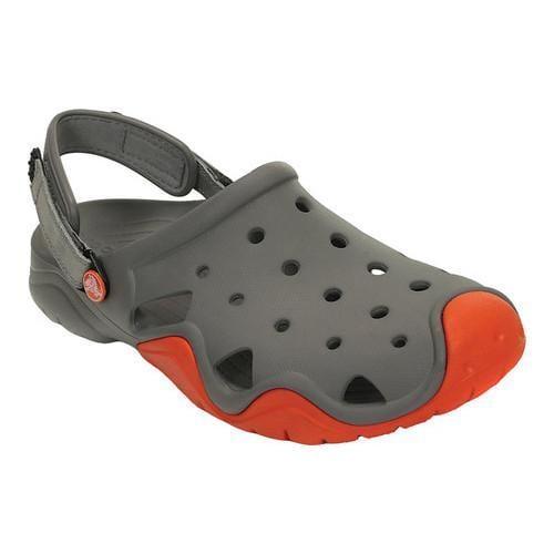 Deals Online Pictures Online Crocs Swiftwater Camp Clog(Men's) -Black/Charcoal Outlet With Paypal Order Online wyRgYR