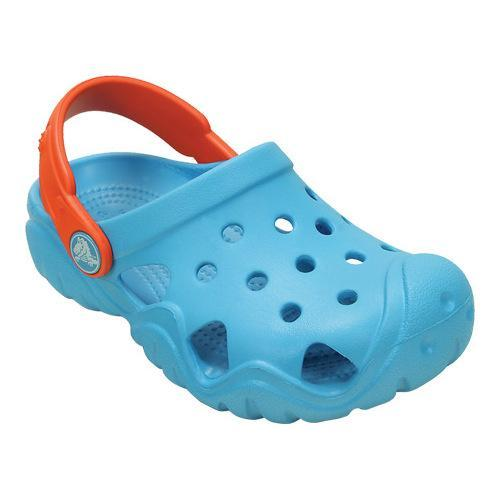 55270a0f4 Shop Children s Crocs Swiftwater Clog Kids Electric Blue Tangerine - Free  Shipping On Orders Over  45 - Overstock - 17228457