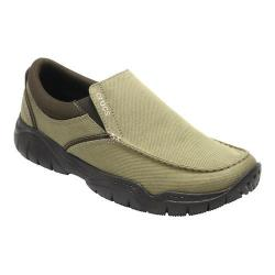 Men's Crocs Swiftwater Casual Slip-On Khaki/Espresso