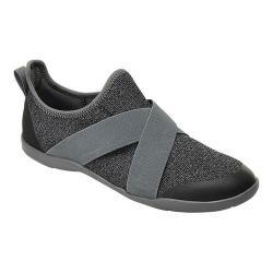 Women's Crocs Swiftwater Cross-Strap Static Slip-On Slate Grey