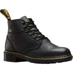 Mens Dr Martens Horton 6Eye Ankle Boot Black Vancouver SyntheticLow Down
