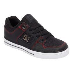 Boys' DC Shoes Pure SE Skate Shoe Black/Red/White