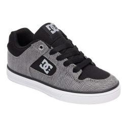 Boys' DC Shoes Pure TX SE Black/Grey/Black