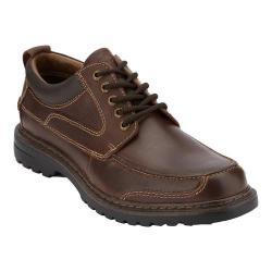 Men's Dockers Overton Moc Toe Derby Red/Brown Soft Oiled Crazyhorse