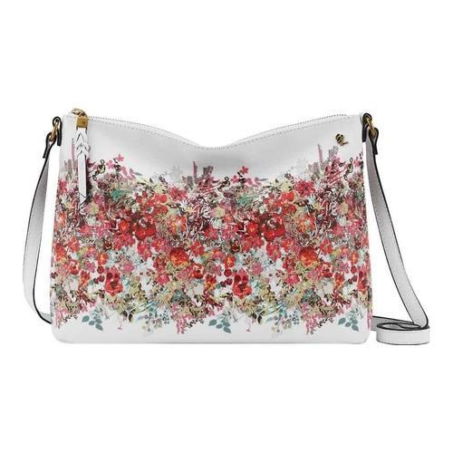 Shop Women s Elliott Lucca Mari Medium Crossbody Bag White Bouquet Faux  Leather - Free Shipping Today - Overstock - 17228658 ea0e3f4e4ad9a