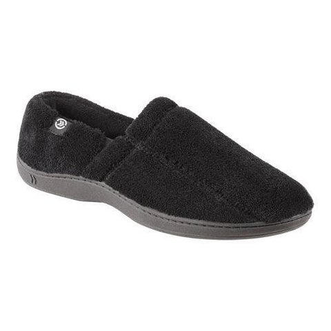 Men's Isotoner Microterry Slip On Black