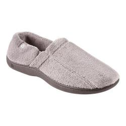 Men's Isotoner Microterry Slip On Charcoal