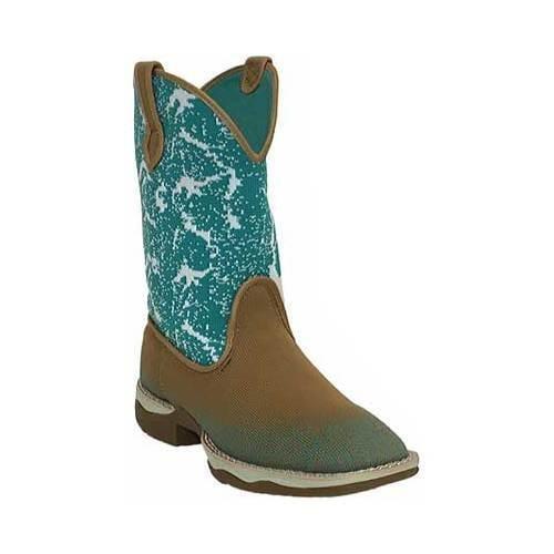 Women's Laredo Daydreamer Cowgirl Boot 5957 Tan Woven Fabric