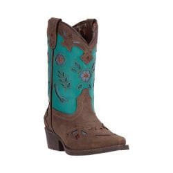 Girls' Laredo Little Kate Cowgirl Boot LC2288 Brown Synthetic