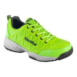 Men's Nautilus N2115 Composite Toe Athletic Work Shoe Lime Mesh/Leather