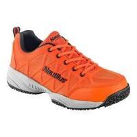 Men's Nautilus N2116 Composite Toe Athletic Work Shoe Orange Mesh/Leather