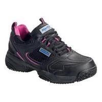 Women's Nautilus N2151 Steel Toe Athletic Black Leather