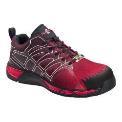 Men's Nautilus N2422 Composite Toe Adv ESD Athletic Work Shoe Red/Grey Mesh/Synthetic