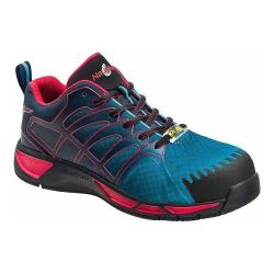 Men's Nautilus N2423 Composite Toe Adv ESD Athletic Work Shoe Blue/Red Mesh/Synthetic