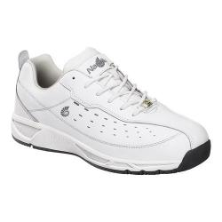 Men's Nautilus N4041 Soft Toe ESD Athletic Work Shoe White Water Resistant Action Leather