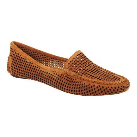 Women's Patricia Green Barrie Loafer Camel Suede