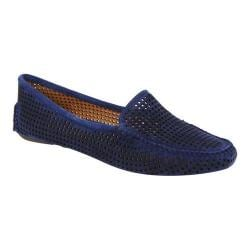 Women's Patricia Green Barrie Loafer Navy Suede