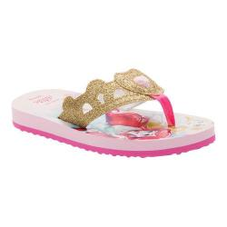 Girls' Stride Rite Disney Multi Princess Flip-Flop Pink EVA