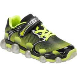 Children's Stride Rite Leepz 2.0 Light Up Sneaker - Preschool Black/Citron Mesh (More options available)