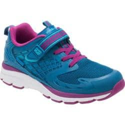 Girls' Stride Rite M2P Cannan Sneaker Blue Leather/Mesh|https://ak1.ostkcdn.com/images/products/194/262/P23485521.jpg?impolicy=medium