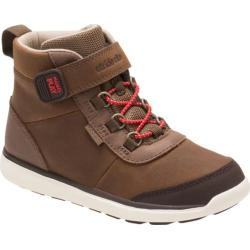 Boys' Stride Rite M2P Duncan High Top Sneaker - Preschool Brown Leather