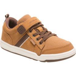 Boys' Stride Rite M2P Kaleb Sneaker Wheat Leather/Textile