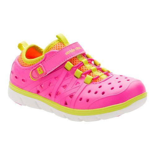 7d04d7c7572c Shop Girls  Stride Rite Made 2 Play Phibian Pink EVA - Free Shipping On  Orders Over  45 - Overstock.com - 17229050