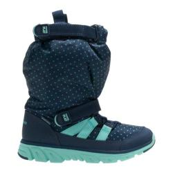 Children's Stride Rite M2P Sneaker Boot Navy/Turquoise Nylon