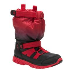 Children's Stride Rite M2P Sneaker Boot Red/Black Nylon