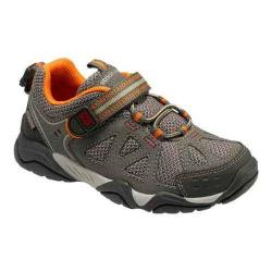 Boys' Stride Rite Made 2 Play Ian Sneaker - Kid Taupe Leather/Mesh